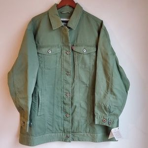 Levi's Spread Collar Button down Jacket size 2X NW